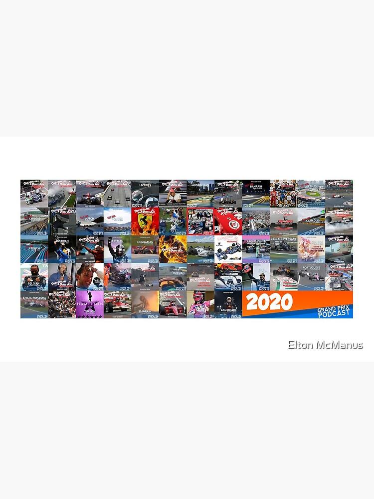 Grand Prix Podcast 2020 Art Work  by EltMcM