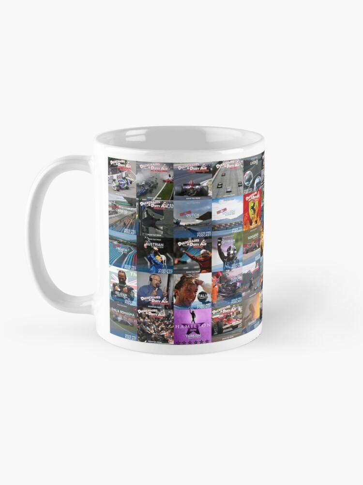 Alternate view of Grand Prix Podcast 2020 Art Work  Mug