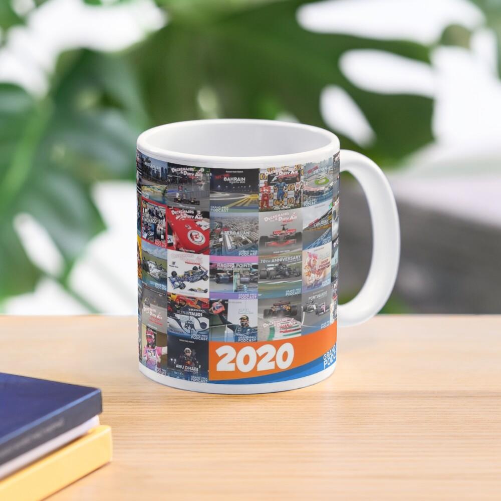 Grand Prix Podcast 2020 Art Work  Mug