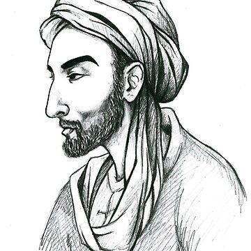Ibn Sina (Avicenna) by PavelPepin