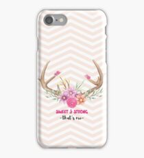 Sweet & Strong iPhone Case/Skin