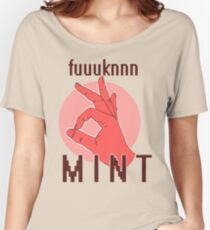 M I N T Women's Relaxed Fit T-Shirt