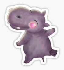 Wee Hippo Sticker