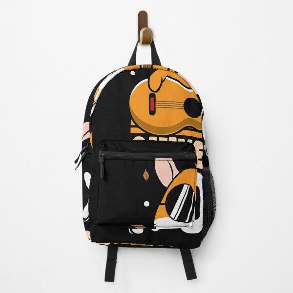 Guinea pigs Rock musik animal fluffy design Backpack