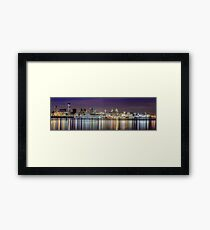The Liverpool Waterfront Skyline Framed Print