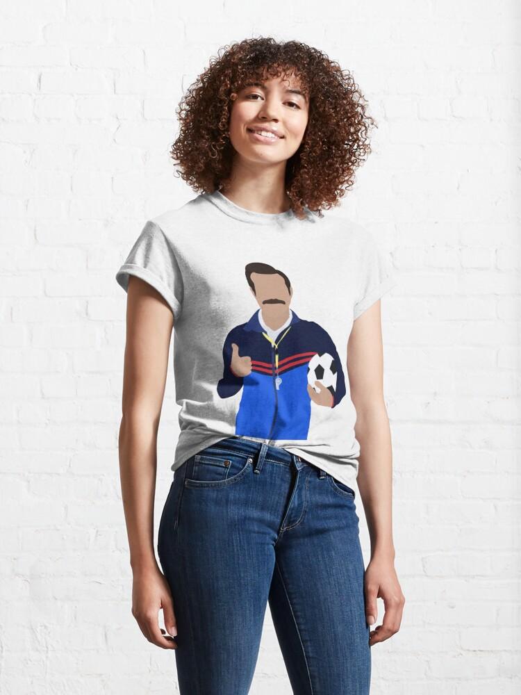 Alternate view of Futbol Is Life Classic T-Shirt