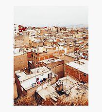 Roof of Fez Photographic Print