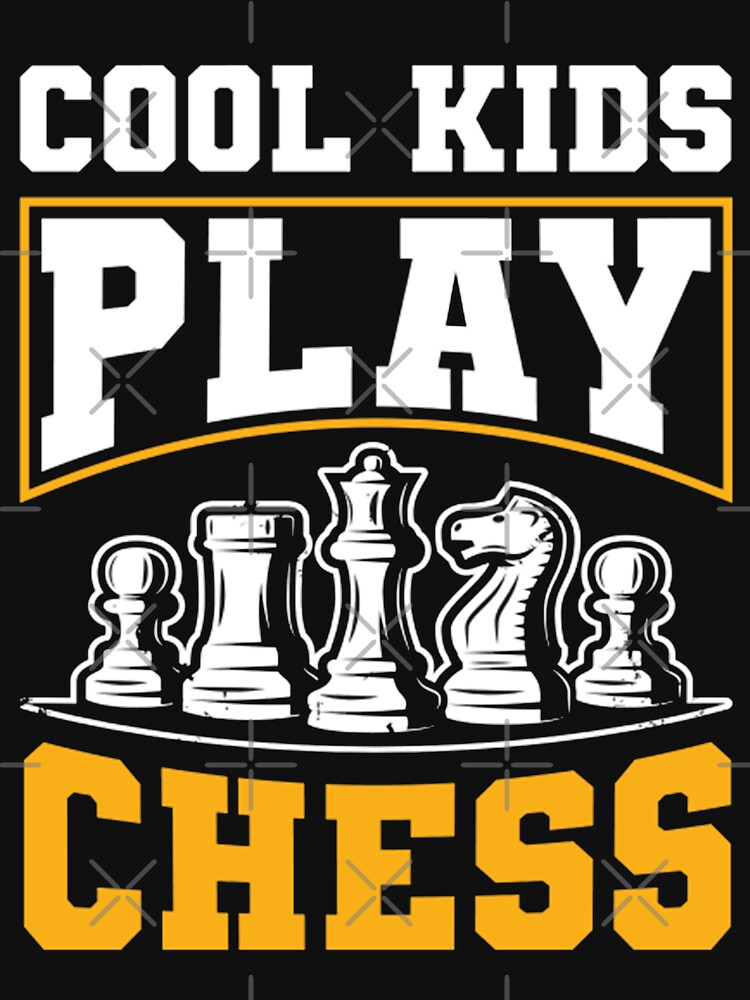 Cool Kids Play Chess Funny Gift Idea by guennouniQ