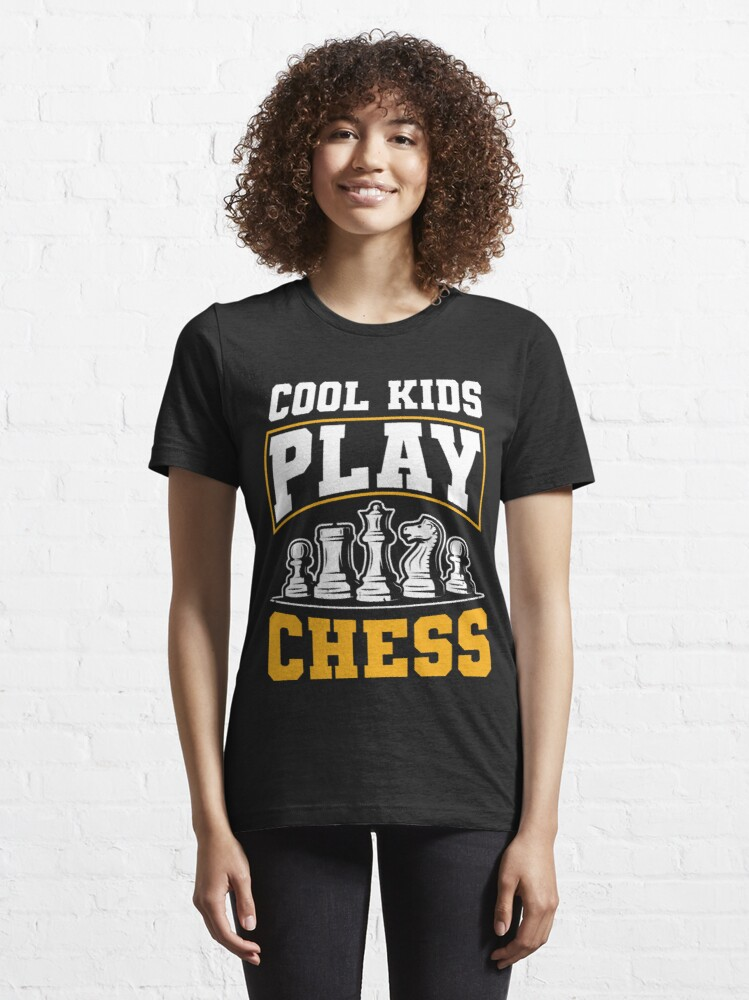Alternate view of Cool Kids Play Chess Funny Gift Idea Essential T-Shirt