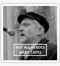 Jeremy Corbyn Hero Sticker