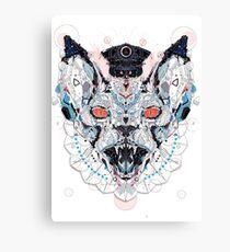 Meerkat Police Canvas Print