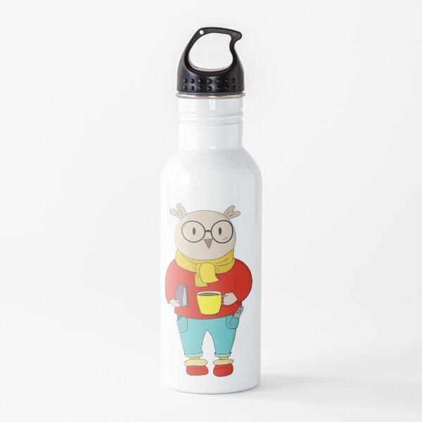 Domestic Owl Water Bottle