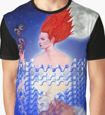 Mujer agua reflejo Graphic T-Shirt