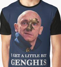 I Get A little Bit Genghis Khan Graphic T-Shirt