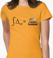 Integral of Delta HF Womens Fitted T-Shirt