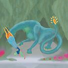Acor'theo- Waterlands Dragon by ToxicMaiden