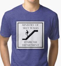 Silly Staircase Tri-blend T-Shirt
