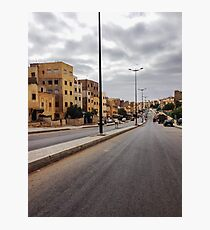 Suburb in Morocco Photographic Print