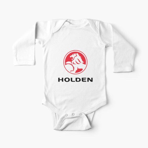 BEST SELLER - Holden-logo Merchandise Long Sleeve Baby One-Piece