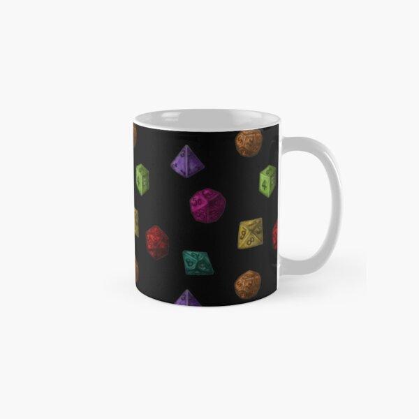 Colourful Polyhedron Dice Classic Mug