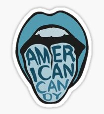 American Candy Sticker