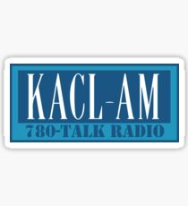 KACL AM – Frasier Crane, 780, Seattle Sticker