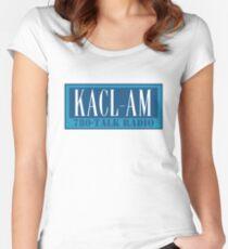 KACL AM - Frasier Kran, 780, Seattle Tailliertes Rundhals-Shirt