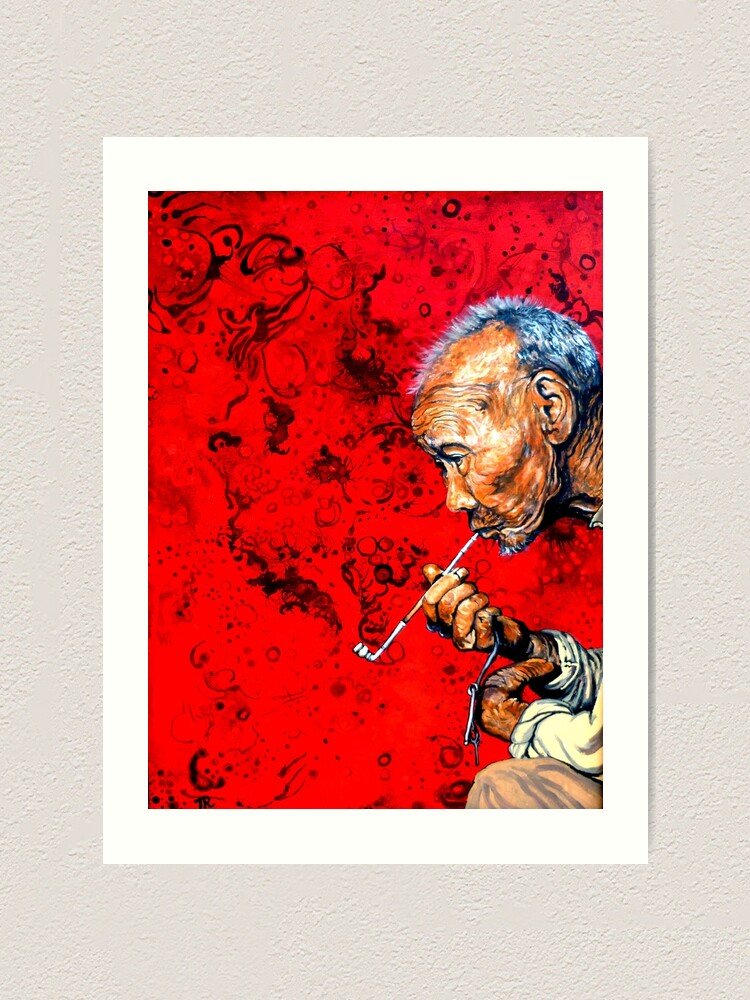 Alternate view of Deep Thoughts Art Print