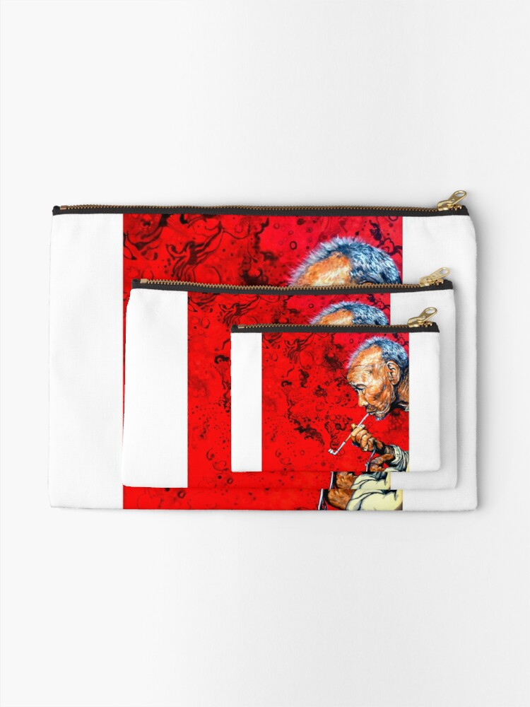 Alternate view of Deep Thoughts Zipper Pouch