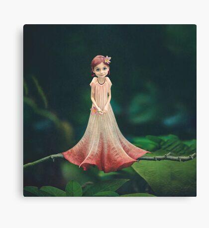 Flower Baby Canvas Print