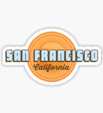 San Francisco. Sticker