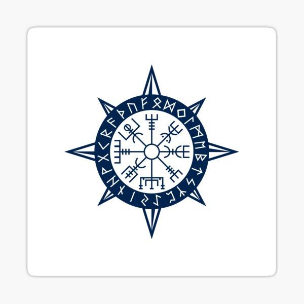 Vegvisir Viking Compass Pegatina