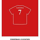 Eric Cantona - Football Legend by springwoodbooks