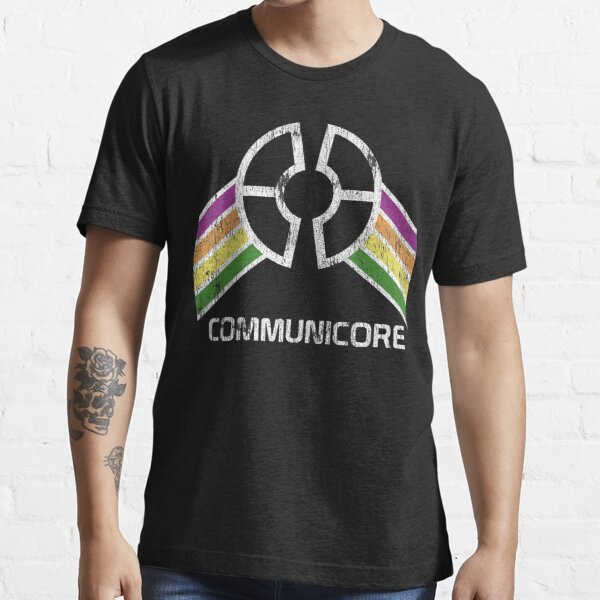 Communicore Logo in Vintage Distressed Style Essential T-Shirt