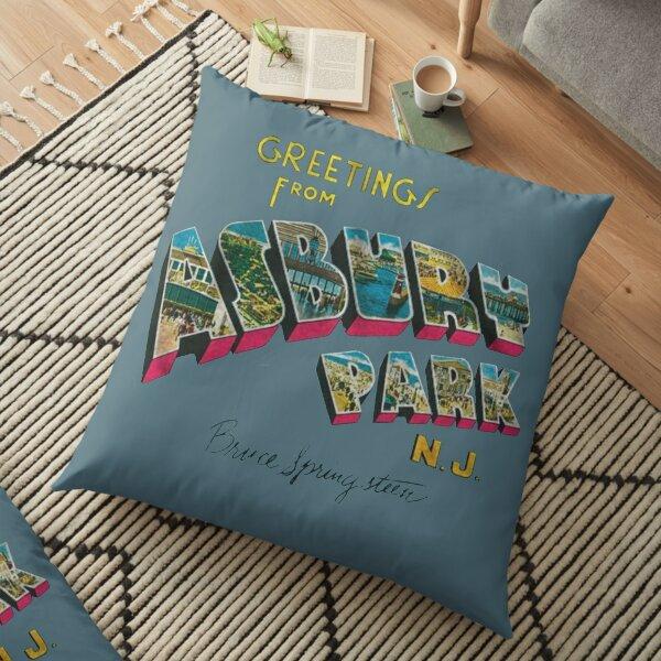 asbury park Coussin de sol