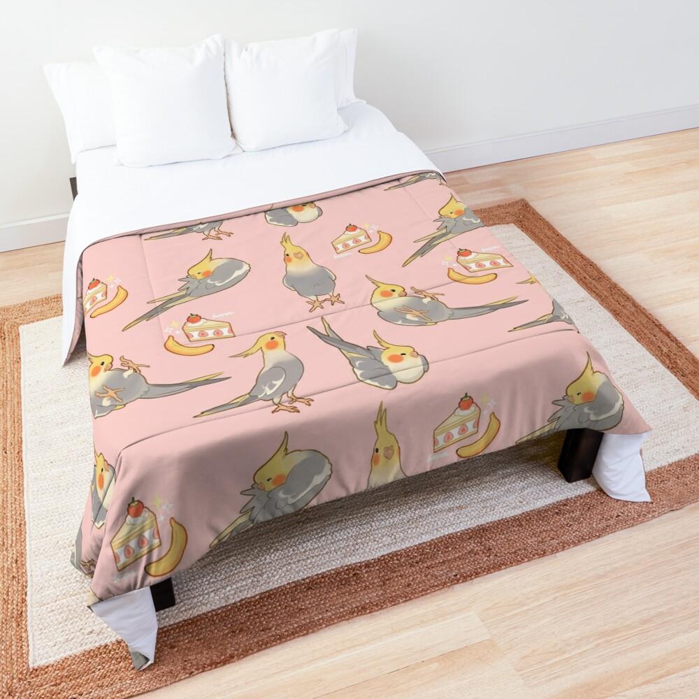 Cute  tiels - grey version Comforter
