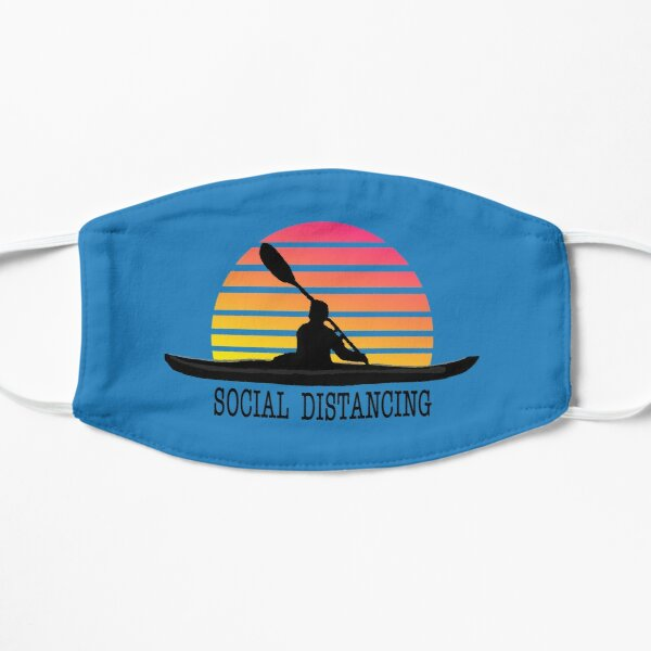 Kayak SOCIAL DISTANCING - I love kayaking Mask