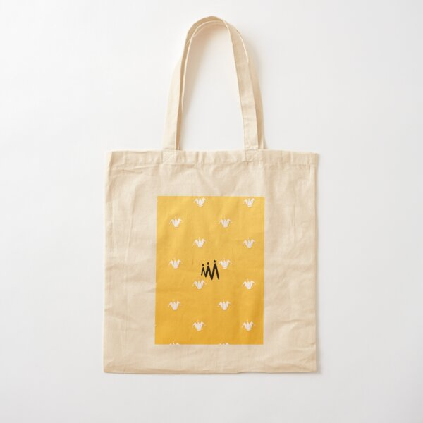 Jester Pattern I Cotton Tote Bag