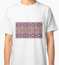 Peach Pattern Classic T-Shirt