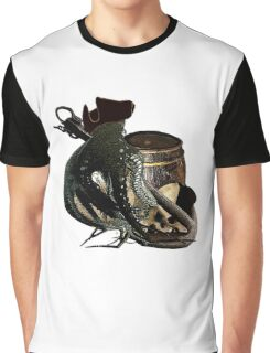 Salvage On The Ocean Floor  Graphic T-Shirt