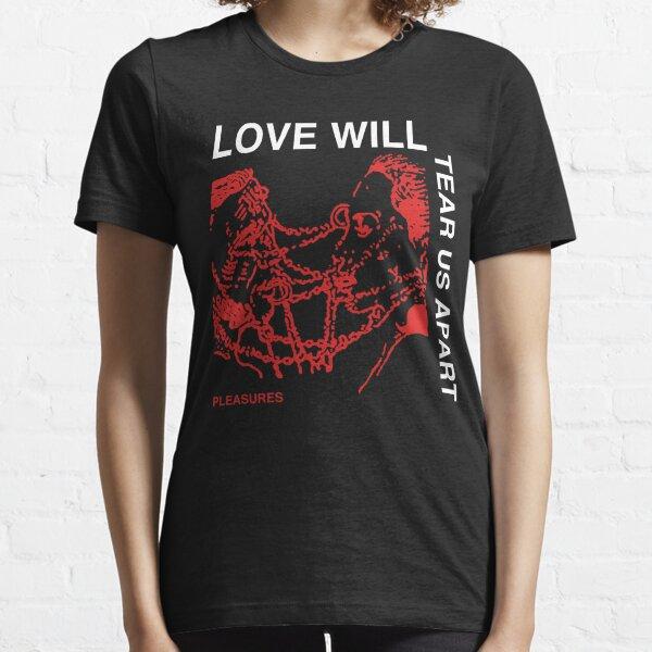 Love Will Tear Us Apart Shirt TShirt Unknown Pleasures Joy Division Crop Top