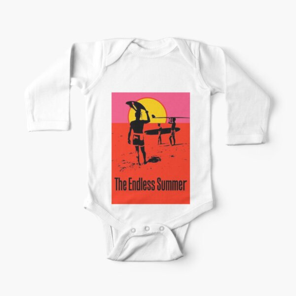 The Endless Summer (1966) Long Sleeve Baby One-Piece