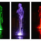 Dancing Water Triptych by SWEEPER