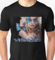 MYSTERIOUS BEAUTY WITH BLUE BUTTERFLY T-Shirt