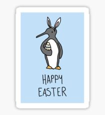 Easter penguin gifts merchandise redbubble happy easter from ralph sticker negle Image collections