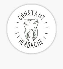 Joyce Manor Constant Headache Sticker