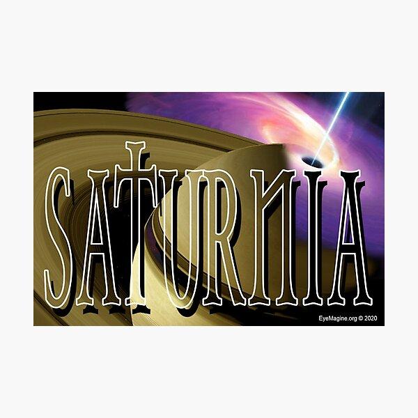 Saturnia Photographic Print