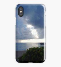 Storm Over Atlantic iPhone Case/Skin