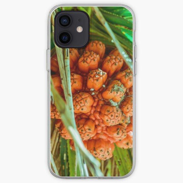 Turquoise Crystal Bluegreen Fruit Beach Orange iPhone Soft Case