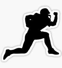 Classic American Football Pattern Sticker